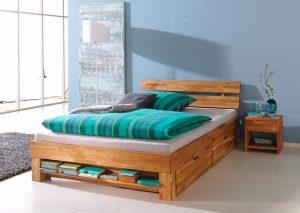 houten bed tweepersoons