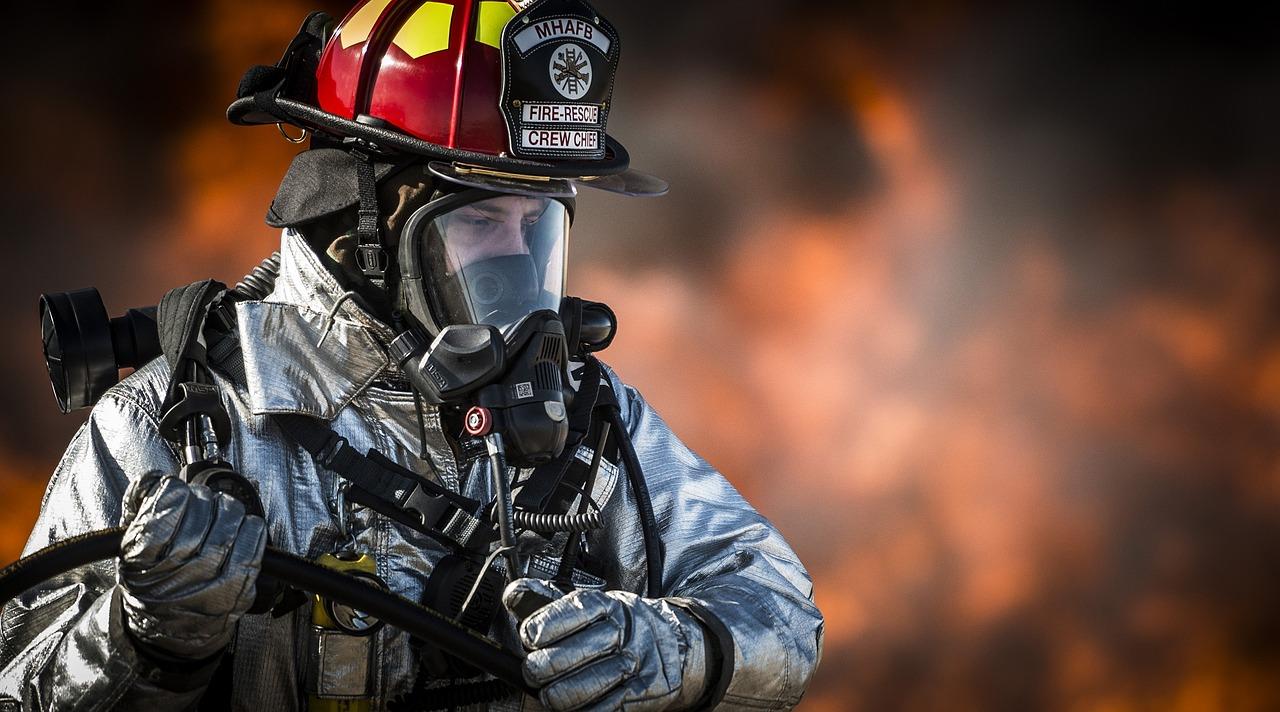 brandweer woningbrand