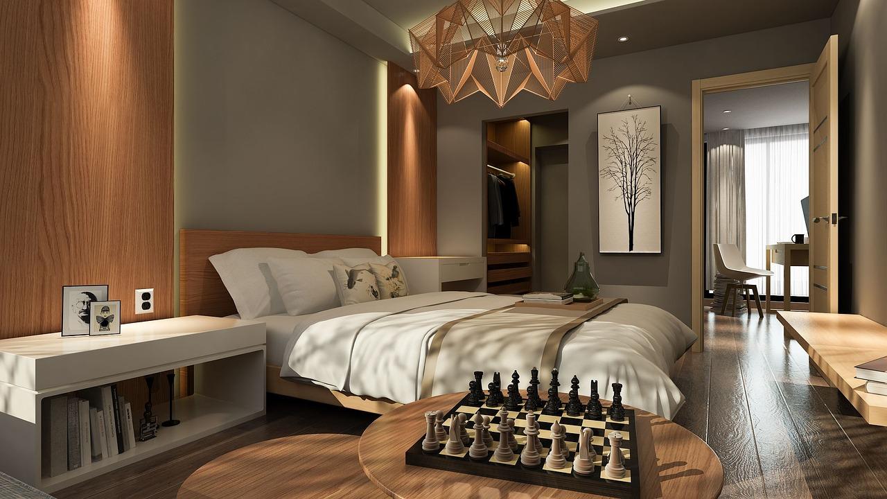 rustige slaapkamer