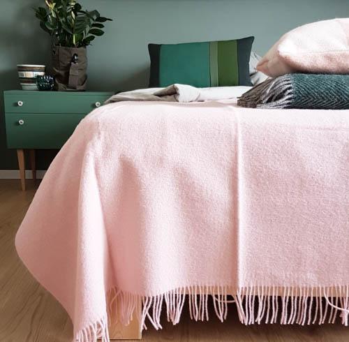 roze deken wol ookinhetpaars